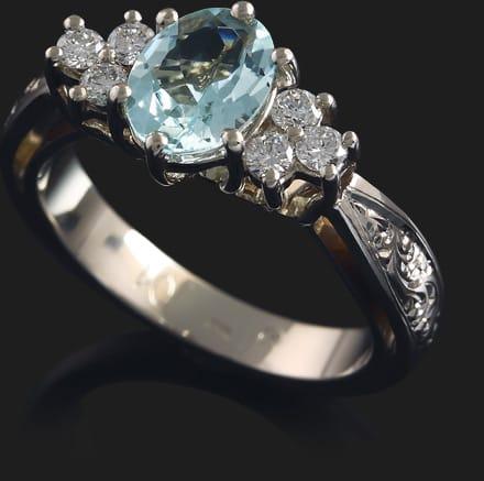 Eljegyzési gyűrű - Léna