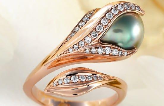 Tahiti Glamour - női gyűrű