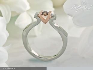 Amphora - eljegyzési gyűrű