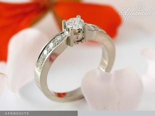Aphrodite - eljegyzési gyűrű
