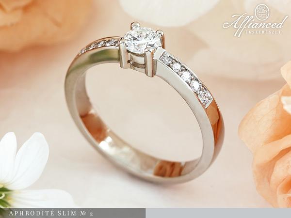 Aphrodite Slim №2 - eljegyzési gyűrű