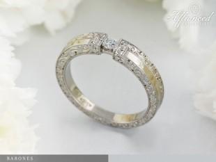 Barones - eljegyzési gyűrű