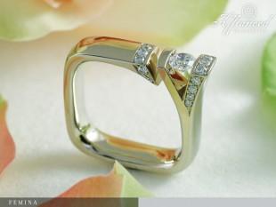 Femina - eljegyzési gyűrű