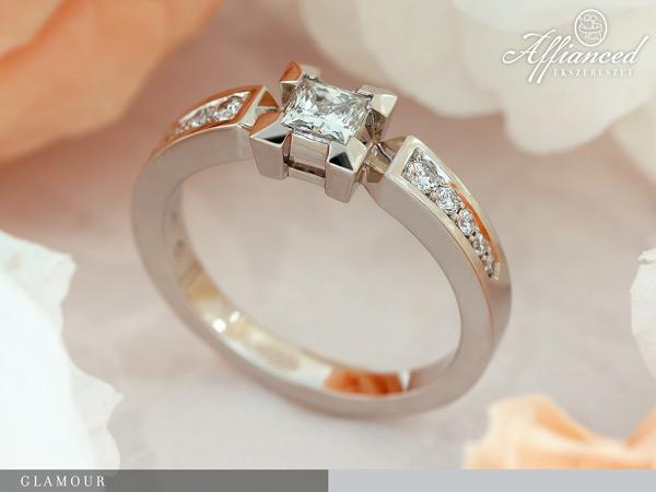 Glamour - eljegyzési gyűrű