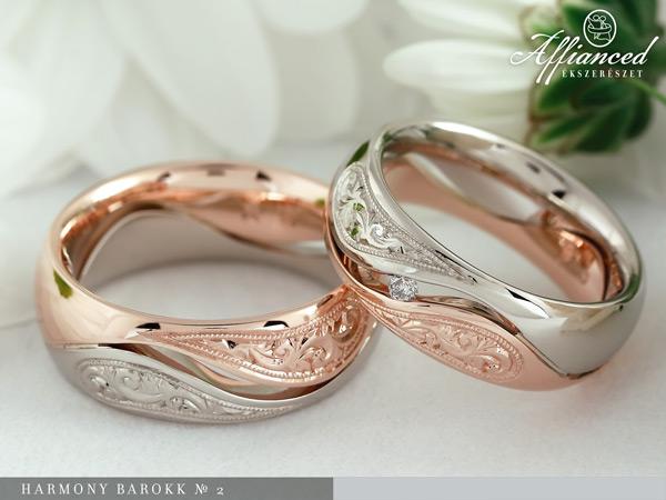 Harmony Barokk №2 - karikagyűrű