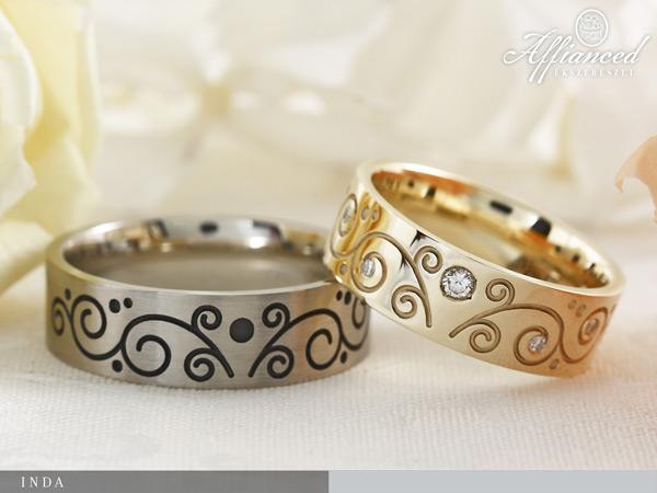 Inda - karikagyűrű