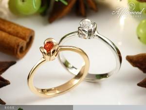 Rose - eljegyzési gyűrű