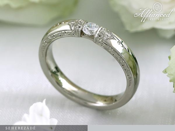 Seherezádé - eljegyzési gyűrű