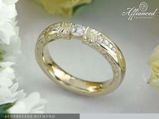 Seherezádé Diamond - eljegyzési gyűrű