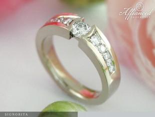 Signorita - eljegyzési gyűrű