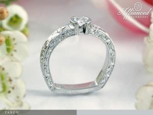 Tango - eljegyzési gyűrű