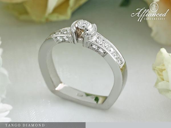 Tango Diamond - eljegyzési gyűrű