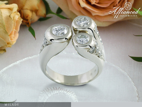 Milady - - női gyűrű