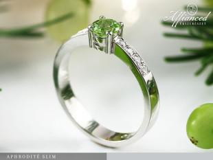 Aphrodite Slim - eljegyzési gyűrű