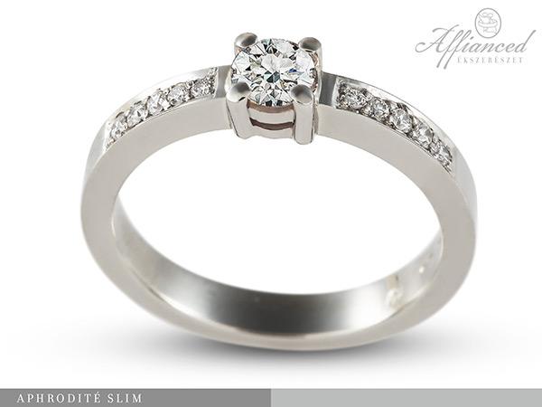 Aphrodité Slim - eljegyzési gyűrű