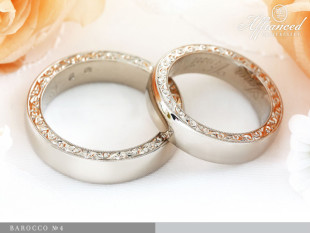 Barocco no4 - karikagyűrű pár