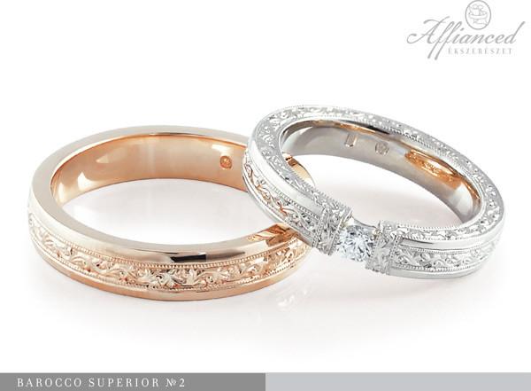 Barocco Superior no2 - karikagyűrű pár