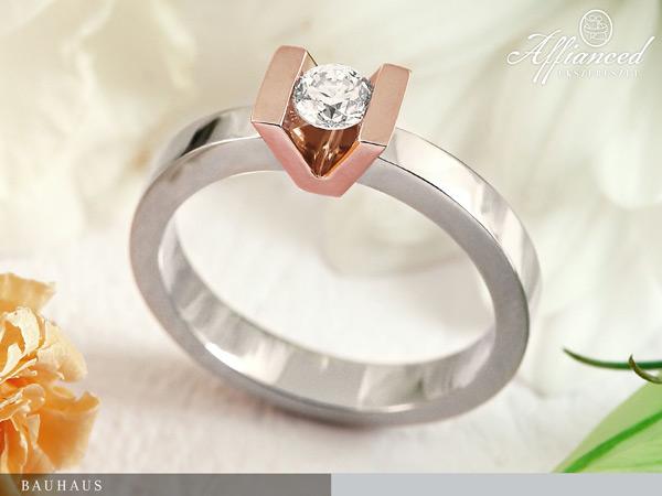Bauhaus - eljegyzési gyűrű