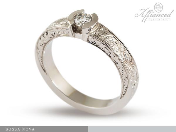 Bossa Nova - eljegyzési gyűrű