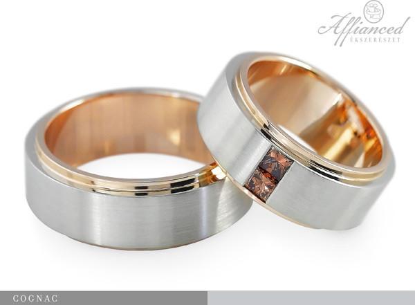 Cognac - karikagyűrű pár