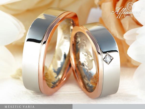 Mesztic Varia - karikagyűrű pár