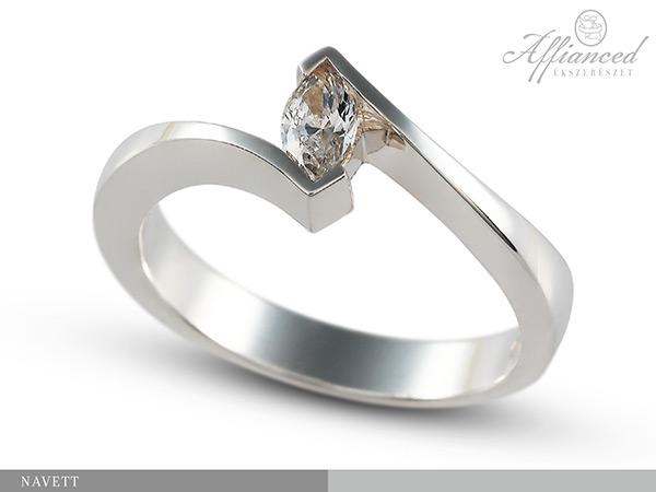 Navett - eljegyzési gyűrű