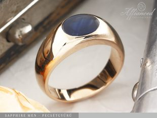 Sapphire Men - pecsétgyűrű