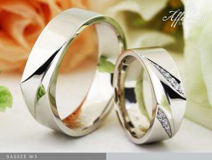 Sasszé no3 - karikagyűrű pár