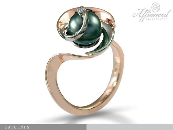 Saturnus - eljegyzési gyűrű