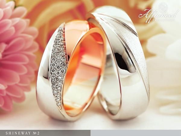 Shineway no2 - karikagyűrű pár