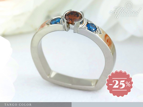 Tango color - eljegyzési gyűrű