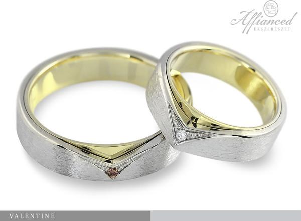 Valentine - karikagyűrű pár