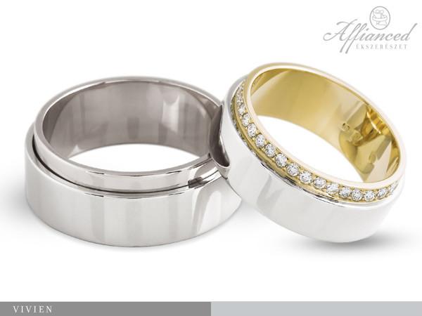 Vivien - karikagyűrű pár