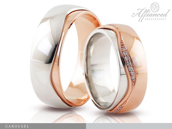 Carousel - karikagyűrű pár