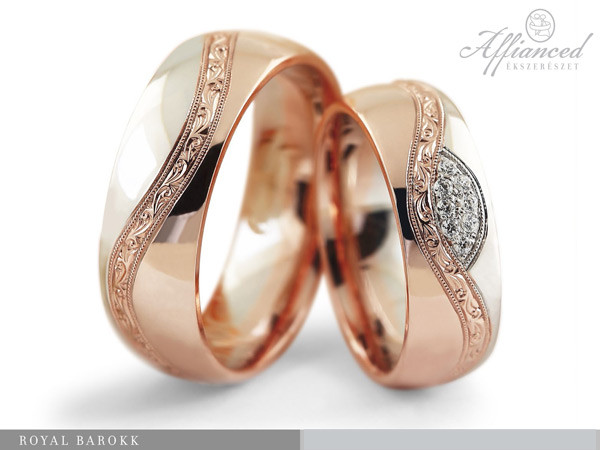 Royal Barokk - karikagyűrű