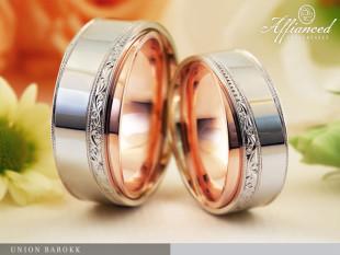 Union Barokk - karikagyűrű pár