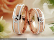 Botticelli - karikagyűrű pár