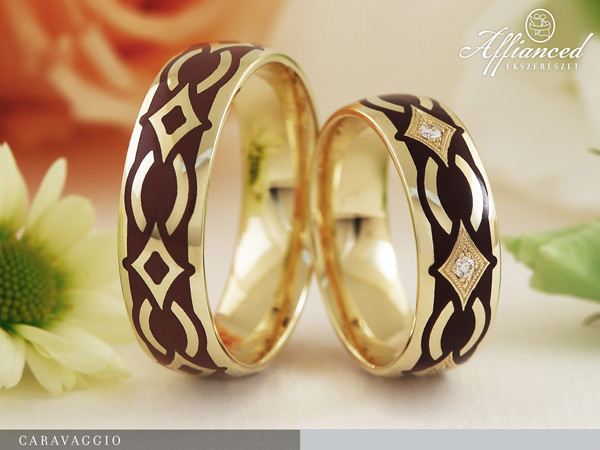 Caravaggio - karikagyűrű pár