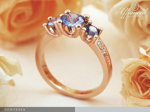 Contessa - eljegyzési gyűrű
