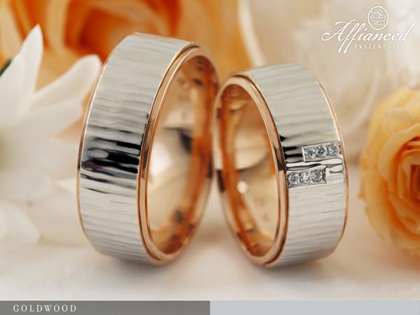 Goldwood - karikagyűrű pár