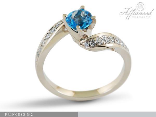 Princess no2 - eljegyzési gyűrű