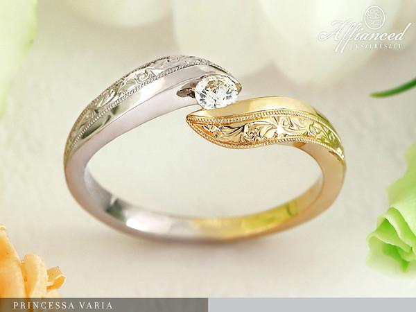 Princessa Varia - eljegyzési gyűrű