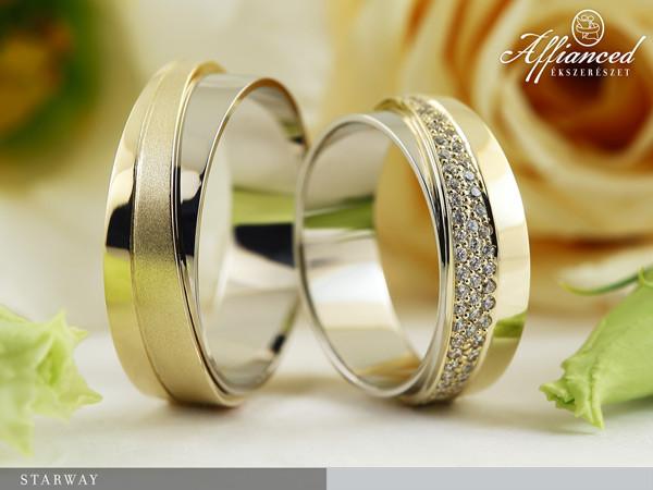 Starway - karikagyűrű pár
