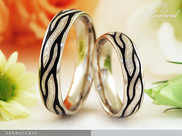 Verrocchio - karikagyűrű pár