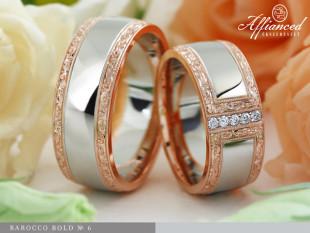 Barocco Bold - no6 - karikagyűrű