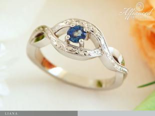 Liana - eljegyzési gyűrű