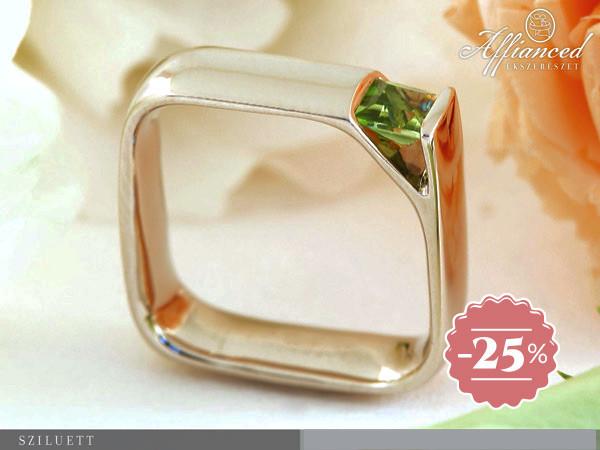 Sziluett - eljegyzési gyűrű