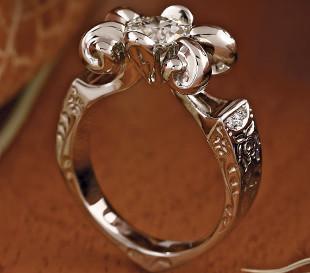 Eljegyzési gyűrűr, gyémánt gyűrű