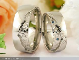 Firhang Variáció - karikagyűrű pár