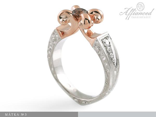Mátka no3 - eljegyzési gyűrű